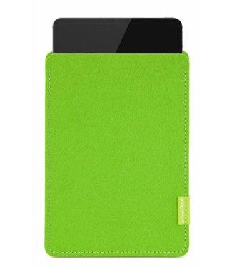 Apple iPad Sleeve Maigrün