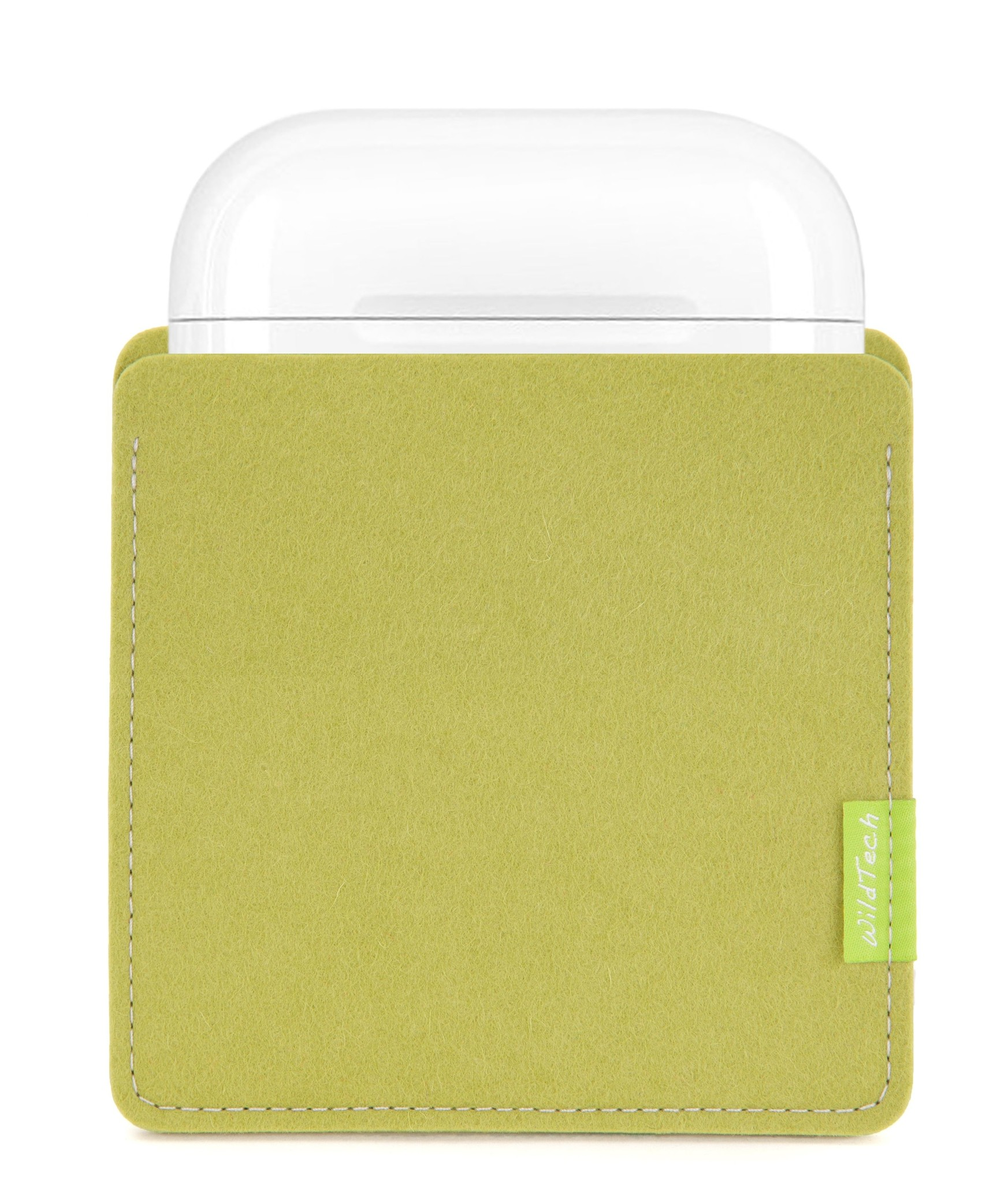 AirPods Sleeve Lime-Green-2