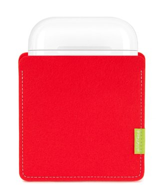 Apple AirPods Sleeve Bright-Red
