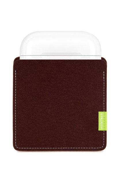 AirPods Sleeve Dark-Brown