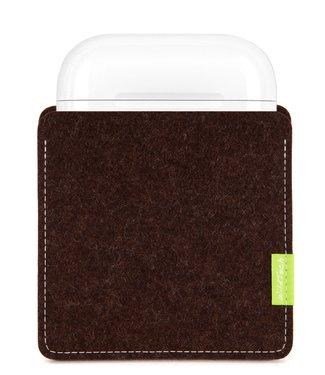 Apple AirPods Sleeve Truffle-Brown