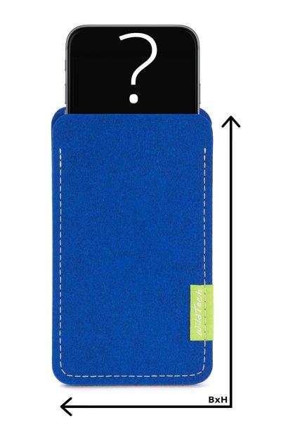Individuelles Smartphone Sleeve Azure