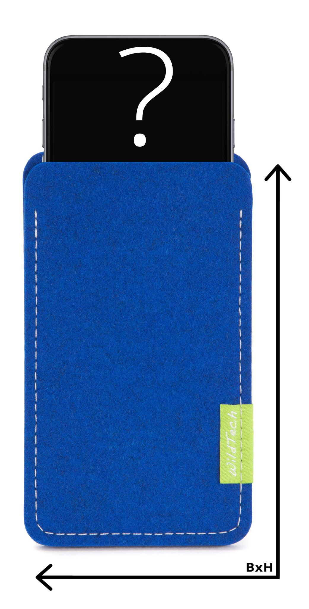 Individuelles Smartphone Sleeve Azure-1