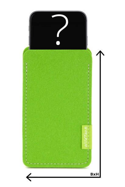 Individual Smartphone Sleeve Bright-Green