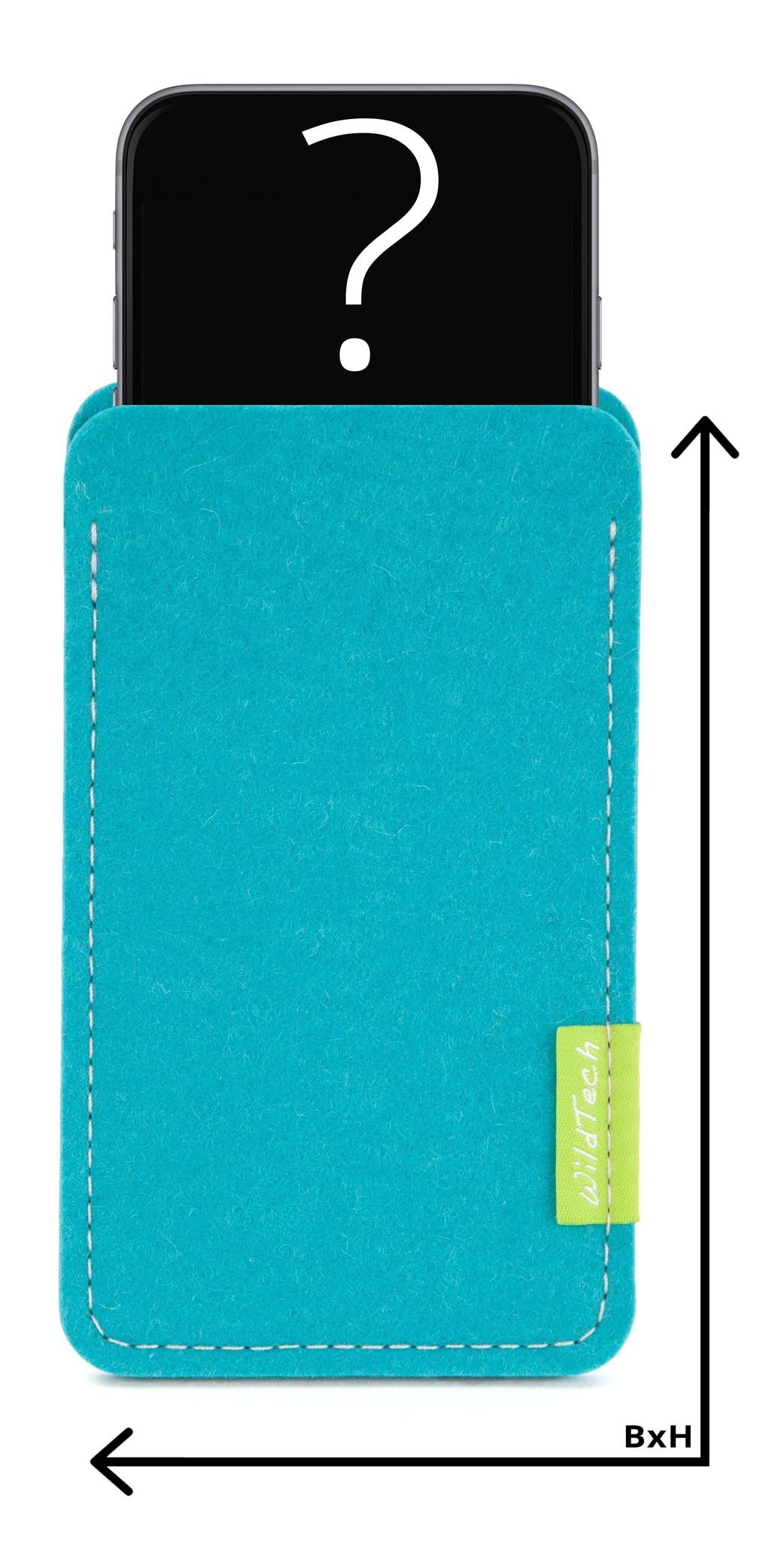Individuelles Smartphone Sleeve Türkis-1