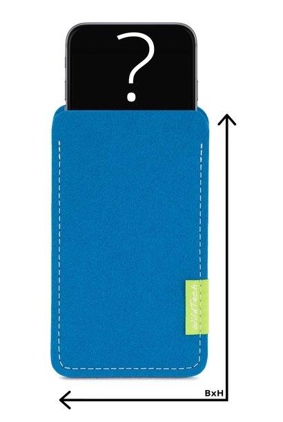 Individuelles Smartphone Sleeve Petrol