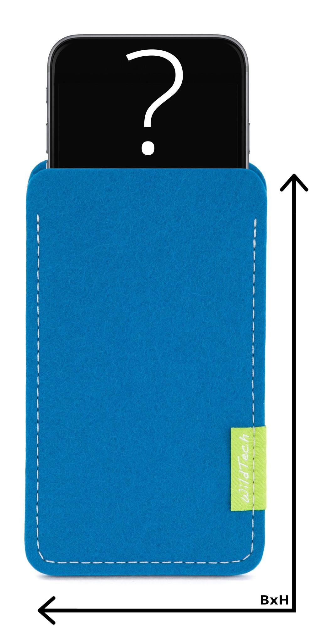 Individuelles Smartphone Sleeve Petrol-1