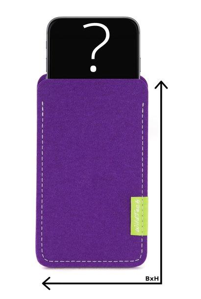 Individuelles Smartphone Sleeve Lila