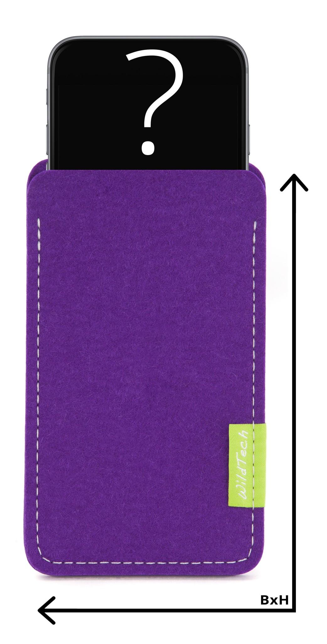 Individual Smartphone Sleeve Purple-1