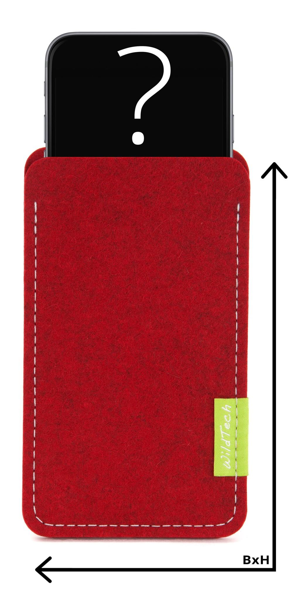 Individual Smartphone Sleeve Cherry-1