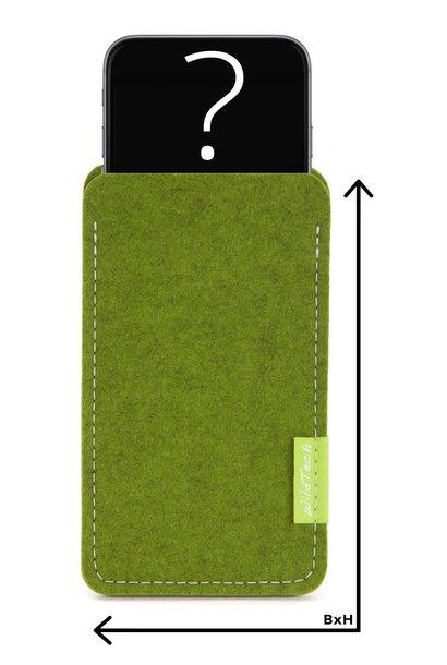 Individuelles Smartphone Sleeve Farn