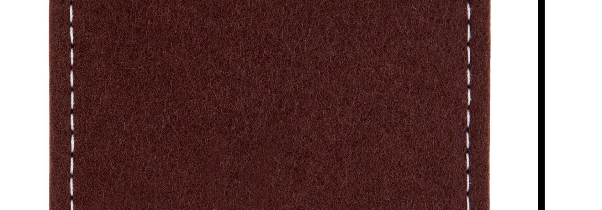Individual Smartphone Sleeve Dark-Brown