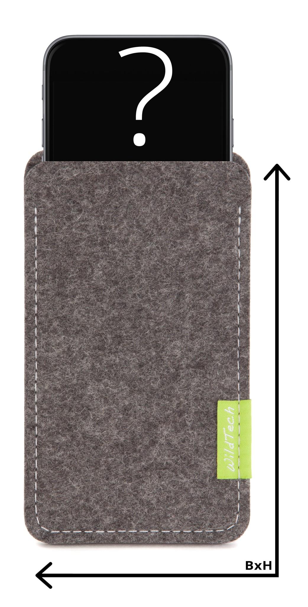Individuelles Smartphone Sleeve Grau-1