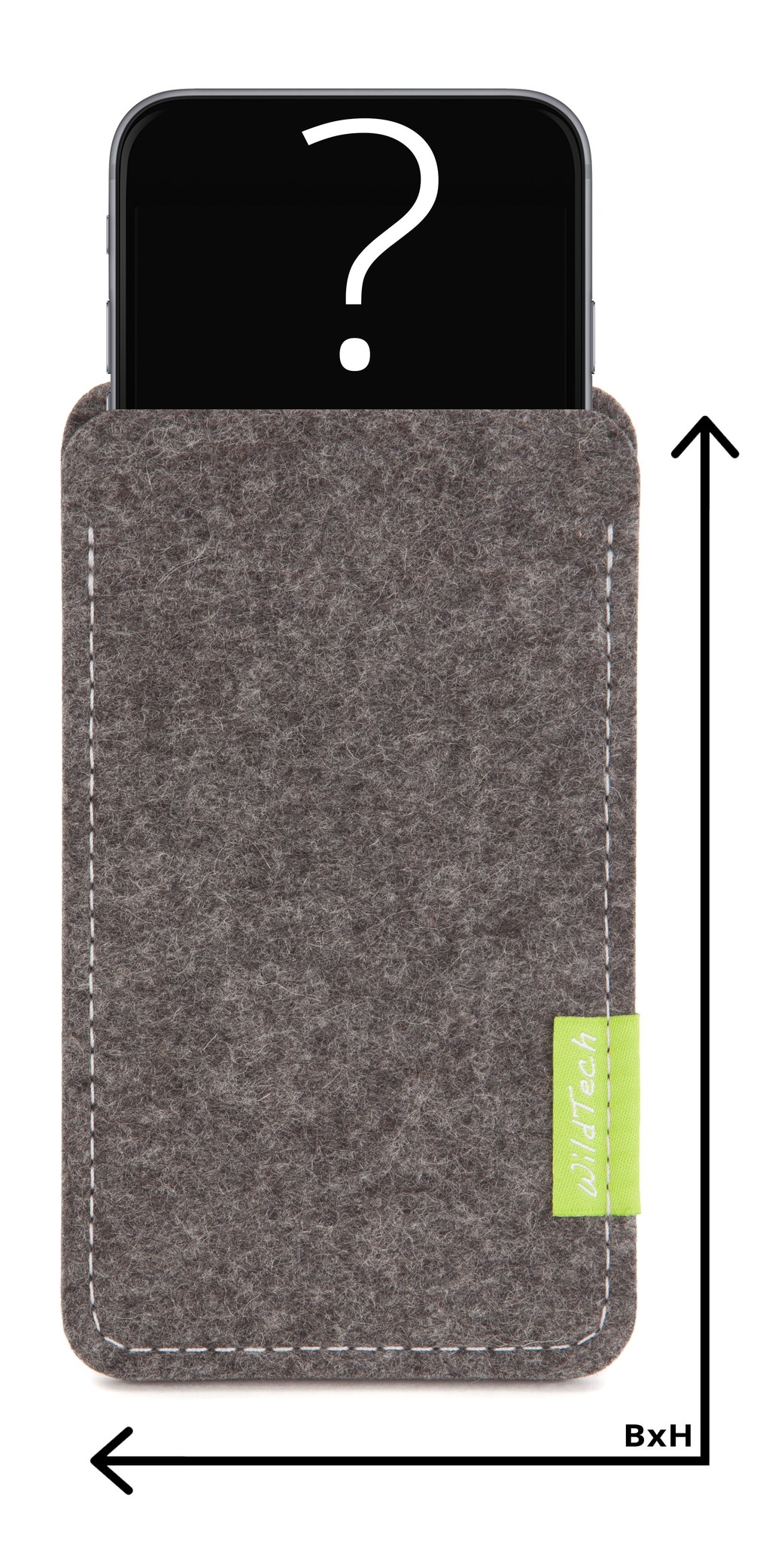 Individual Smartphone Sleeve Grey-1