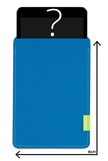 Individual Tablet Sleeve Petrol
