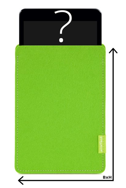 Individual Tablet Sleeve Bright-Green
