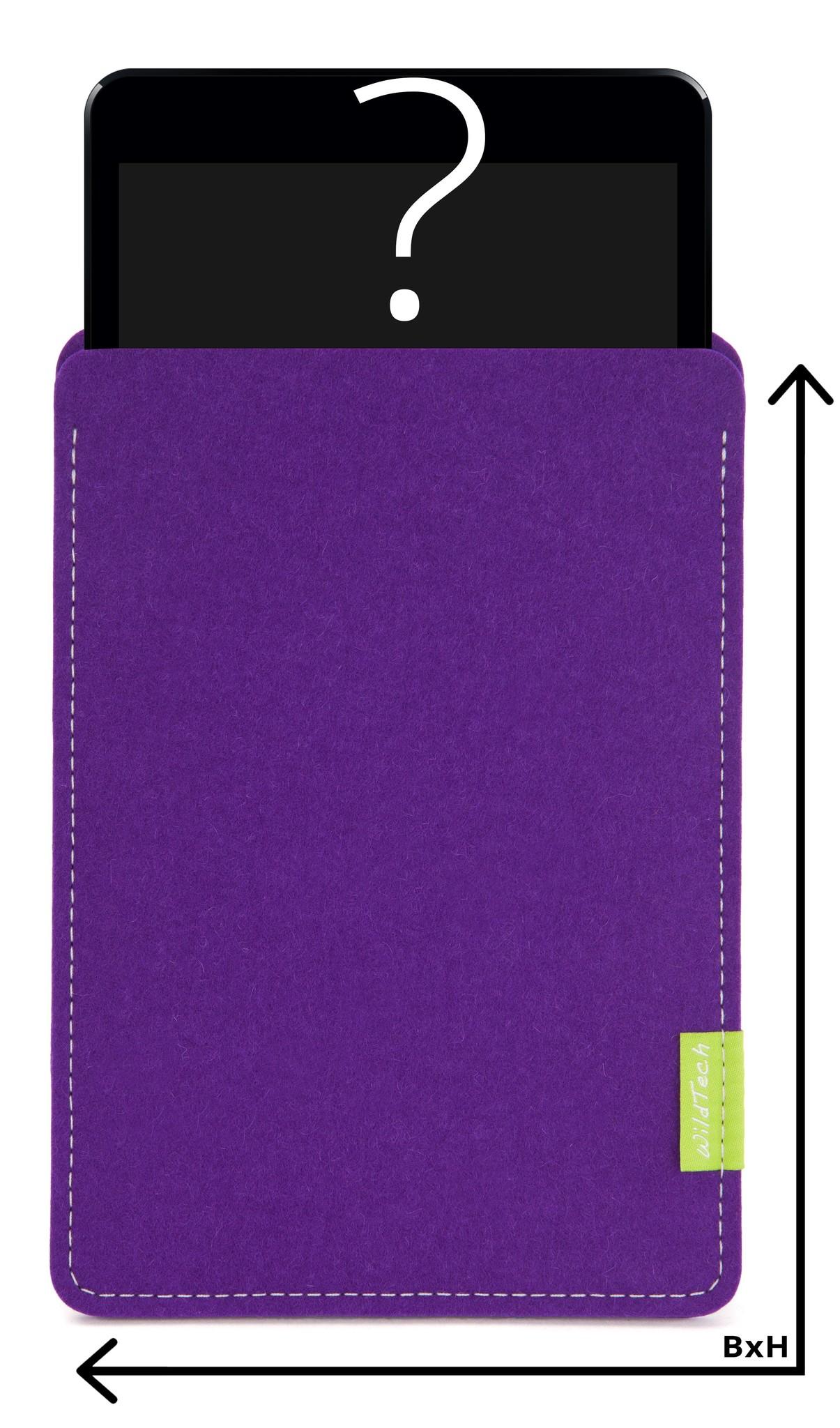 Individuelles Tablet Sleeve Lila-1