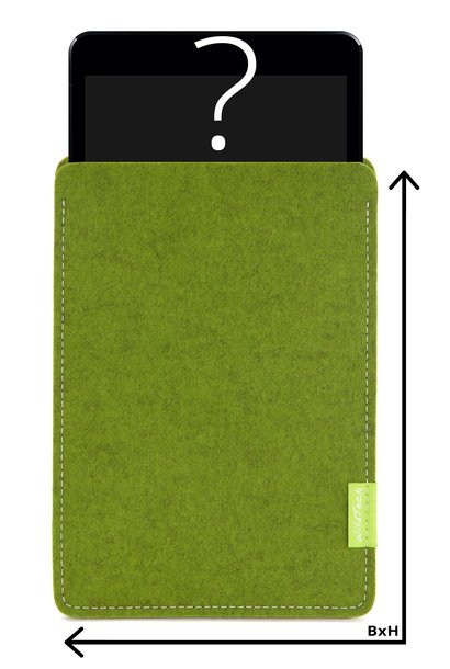 Individual Tablet Sleeve Farn-Green