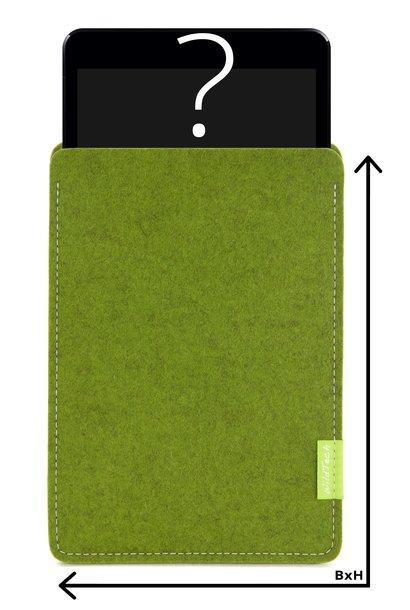 Individuelles Tablet Sleeve Farn