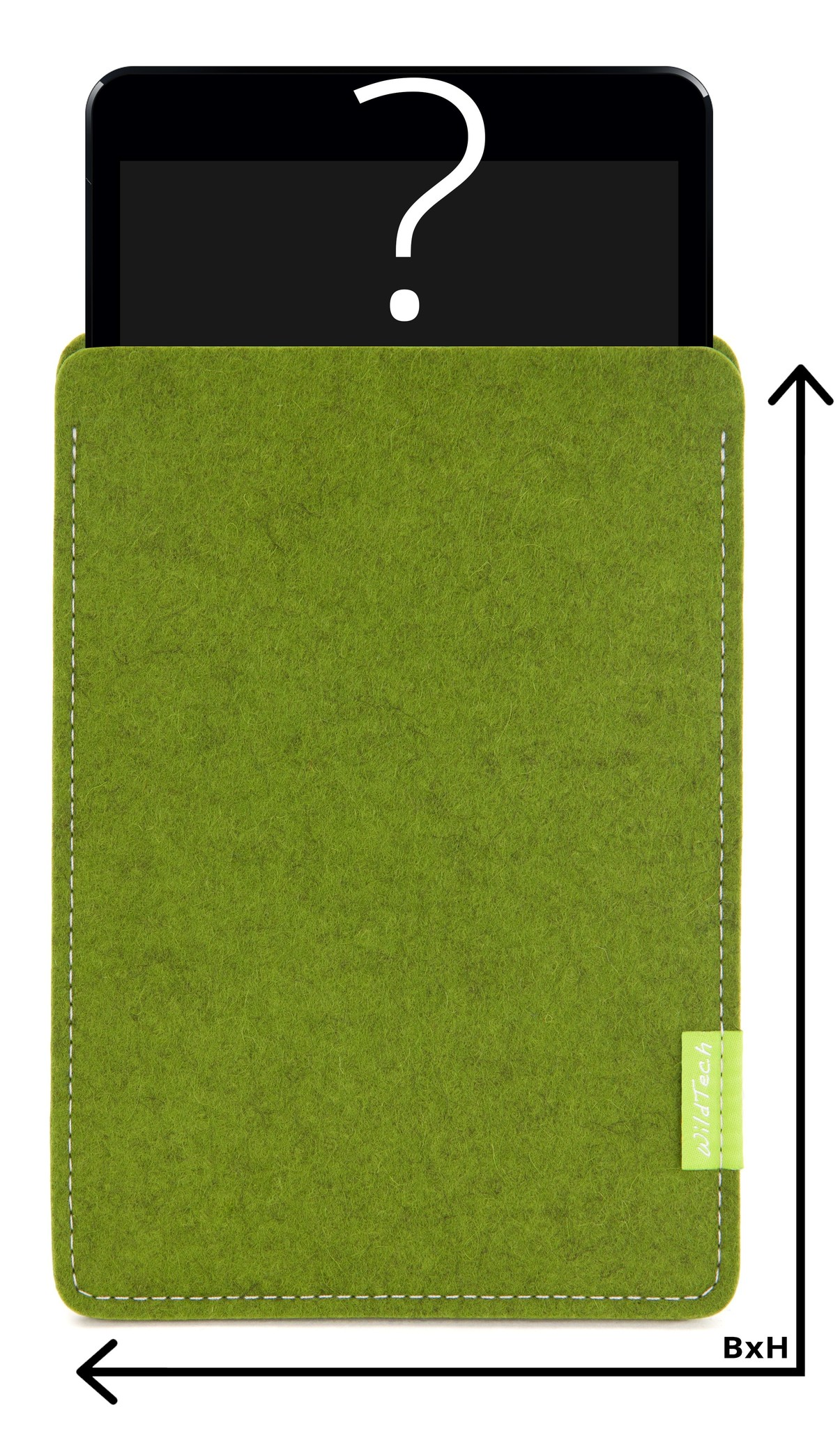 Individual Tablet Sleeve Farn-Green-1