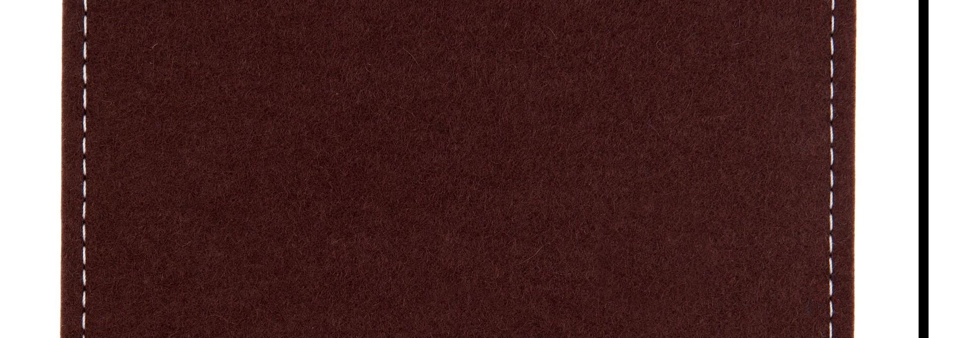 Individuelles Tablet Sleeve Dunkelbraun