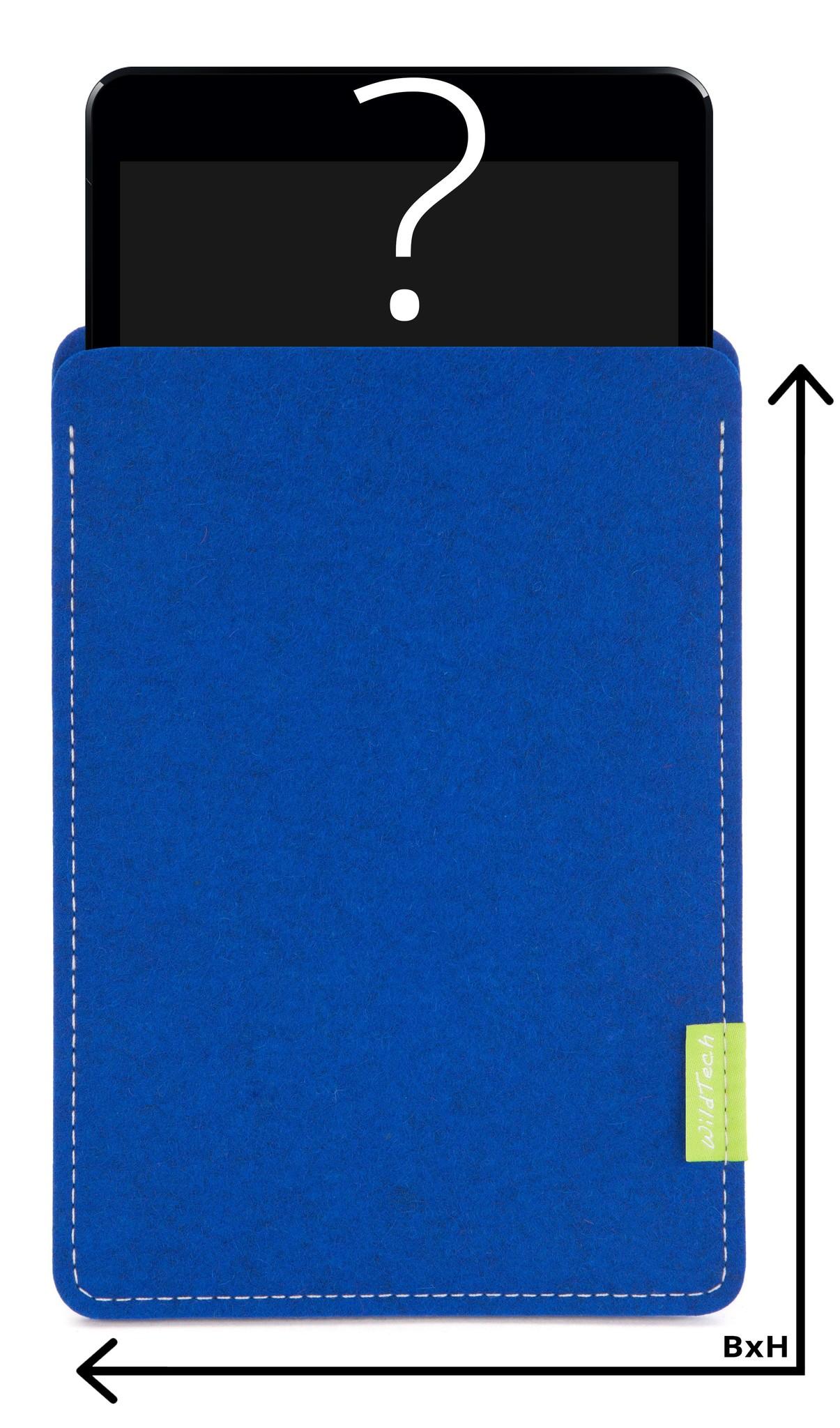 Individuelles Tablet Sleeve Azure-1