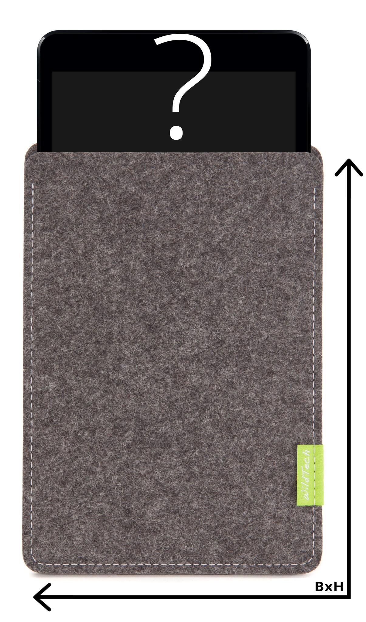 Individuelles Tablet Sleeve Grau-1