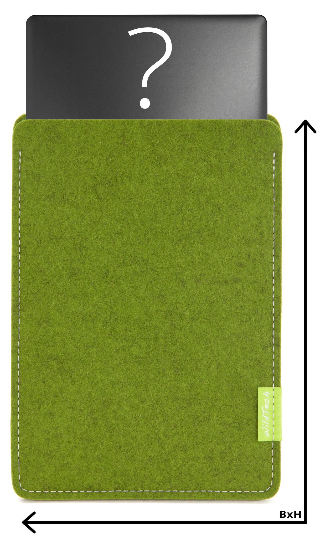 Individuelles Notebook Sleeve Farn-1