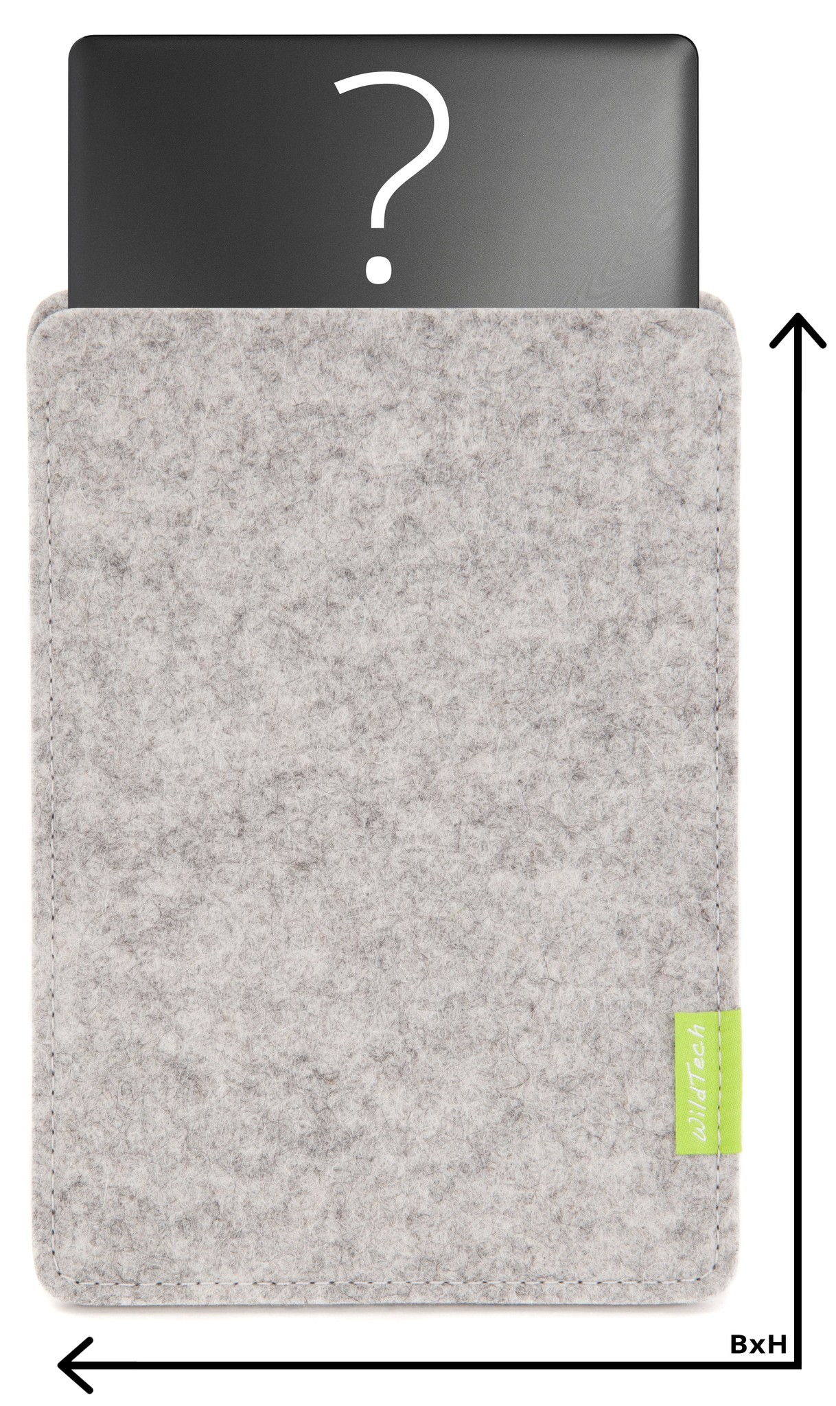 Individual Notebook Sleeve Bright-Grey-1