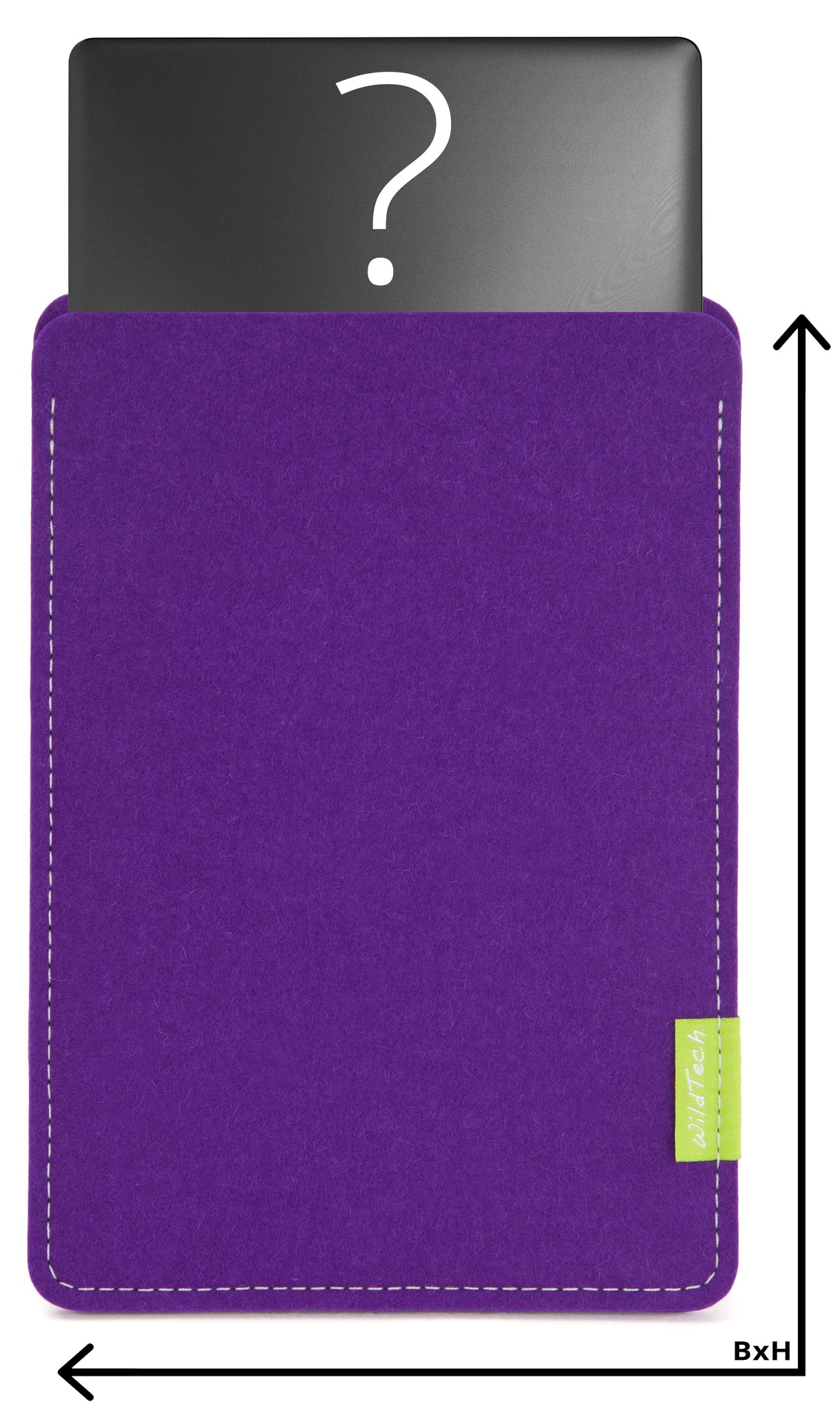 Individuelles Notebook Sleeve Lila-1