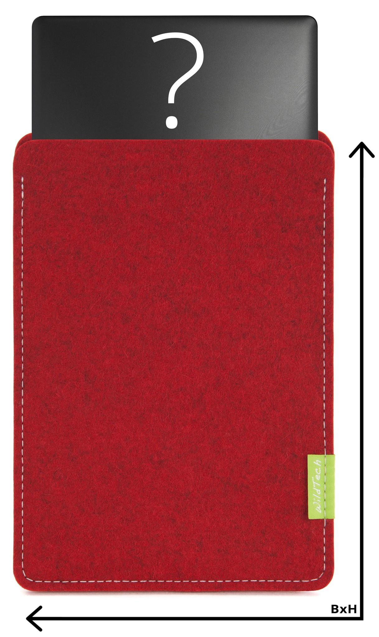 Individual Notebook Sleeve Cherry-1