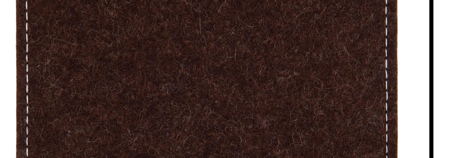 Individuelles Notebook Sleeve Trüffelbraun