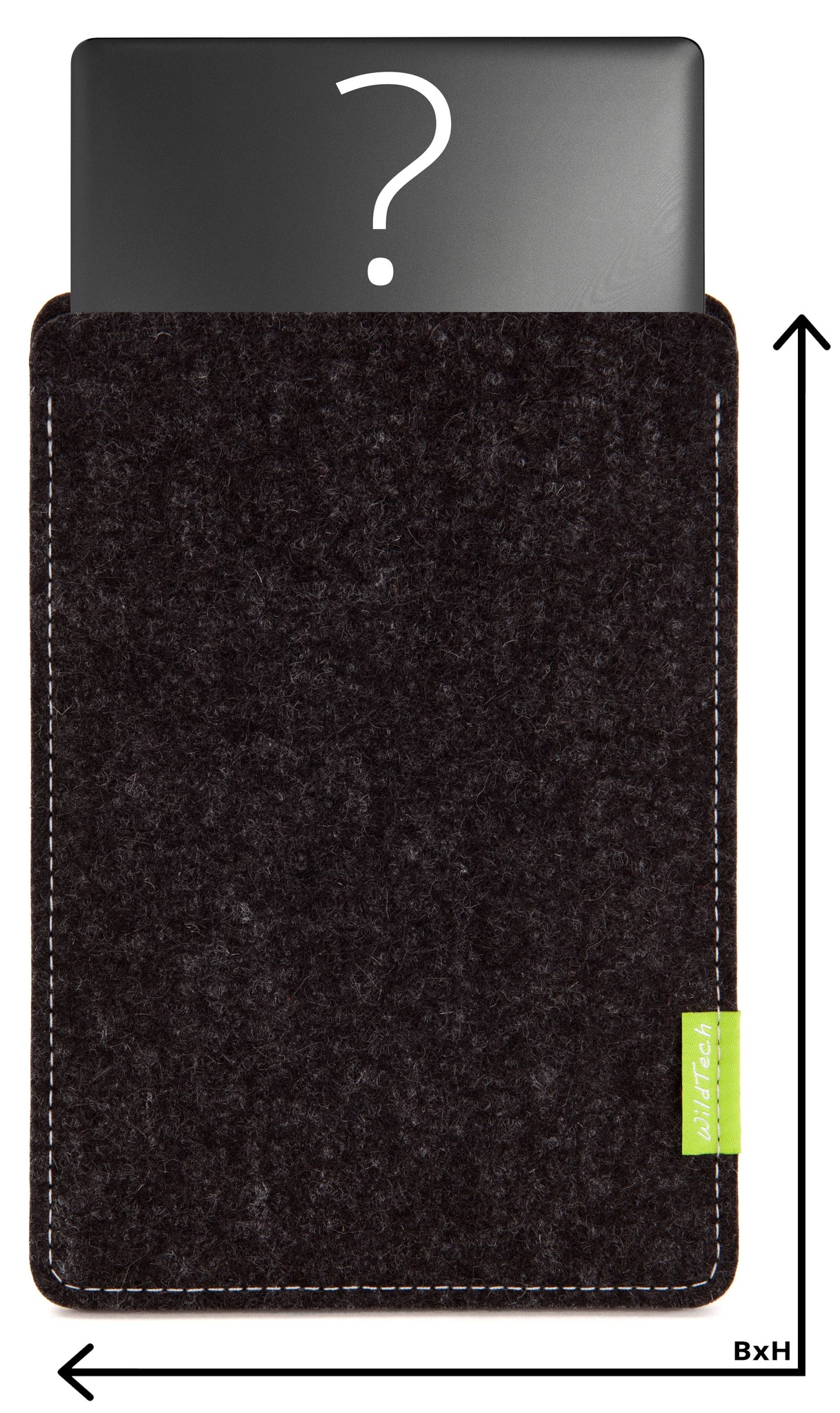 Individual Notebook Sleeve Anthracite-1