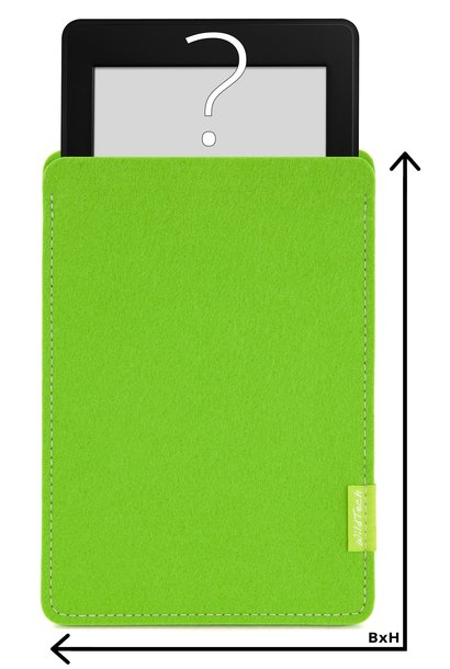 Individual eBook Sleeve Bright-Green