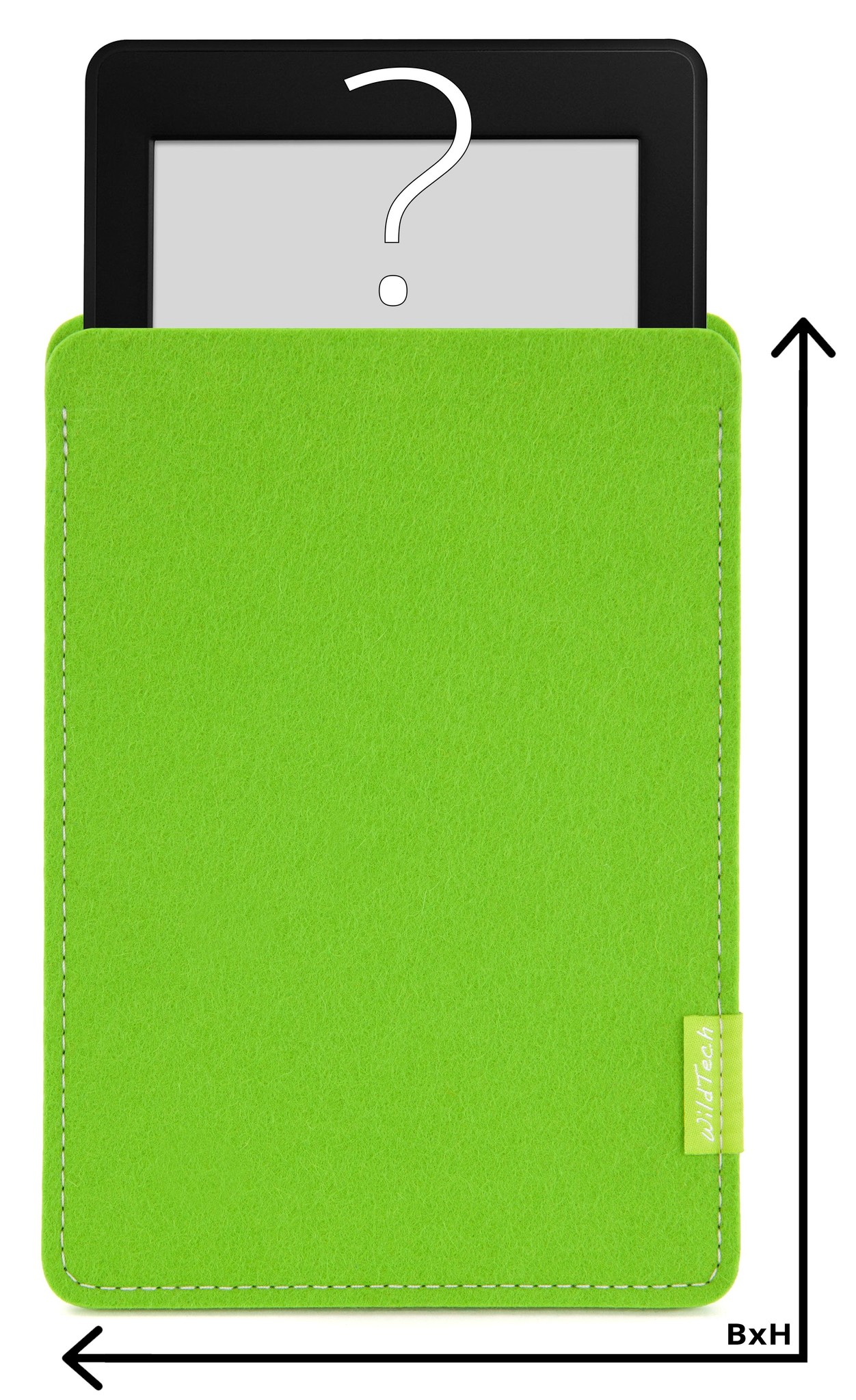 Individuelles eBook Sleeve Maigrün-1