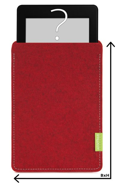 Individual eBook Sleeve Cherry