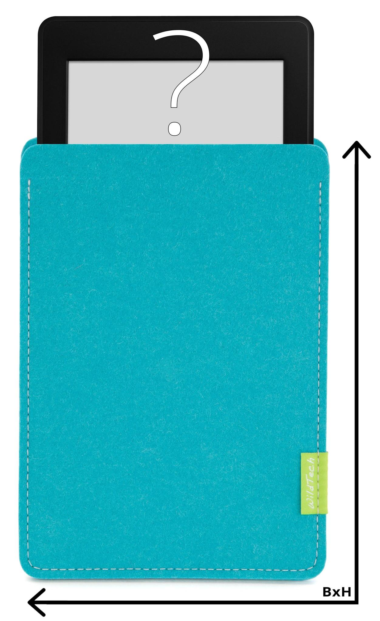 Individuelles eBook Sleeve Türkis-1