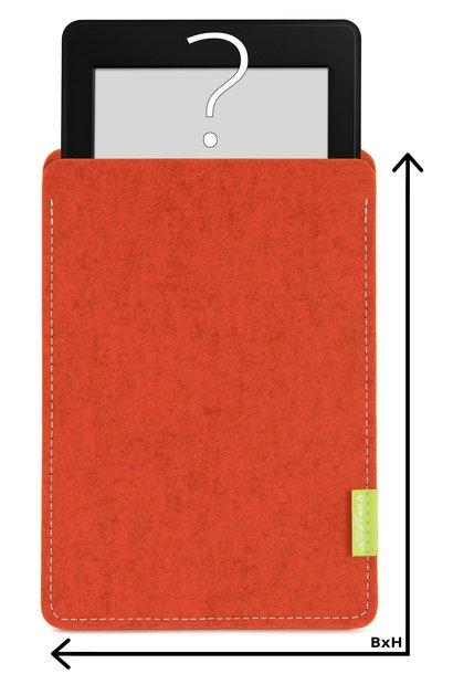 Individuelles eBook Sleeve Rost