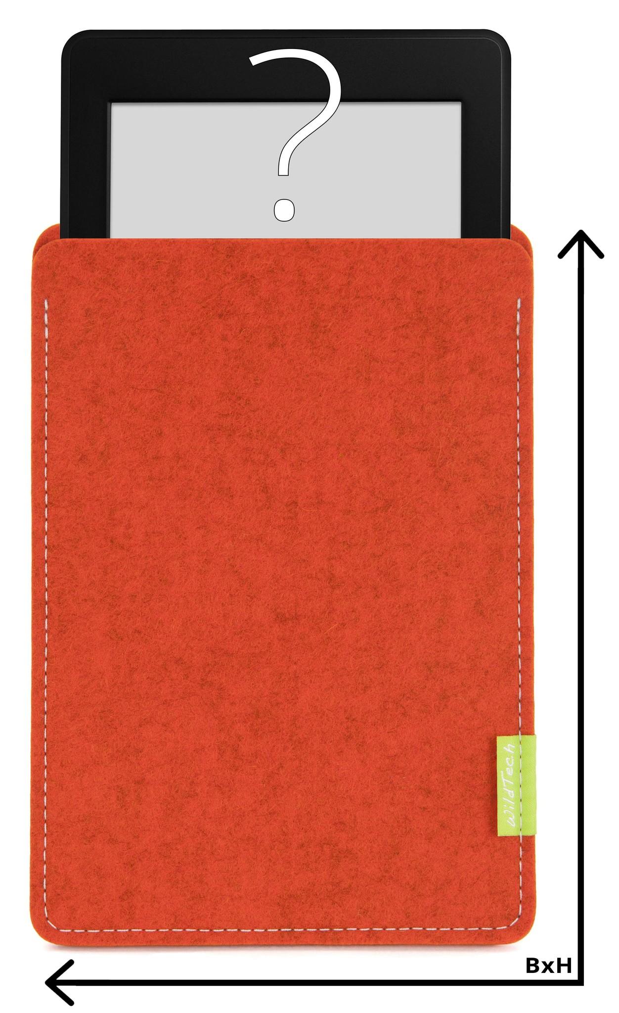 Individuelles eBook Sleeve Rost-1