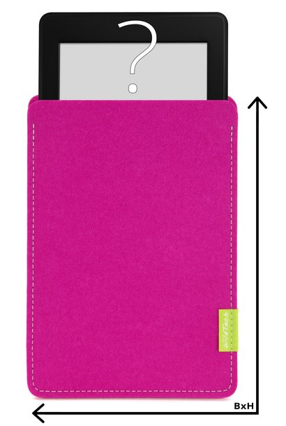 Individual eBook Sleeve Pink