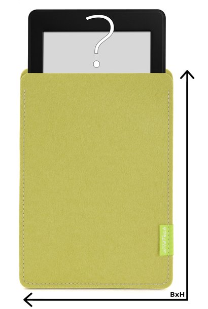 Individual eBook Sleeve Lime-Green