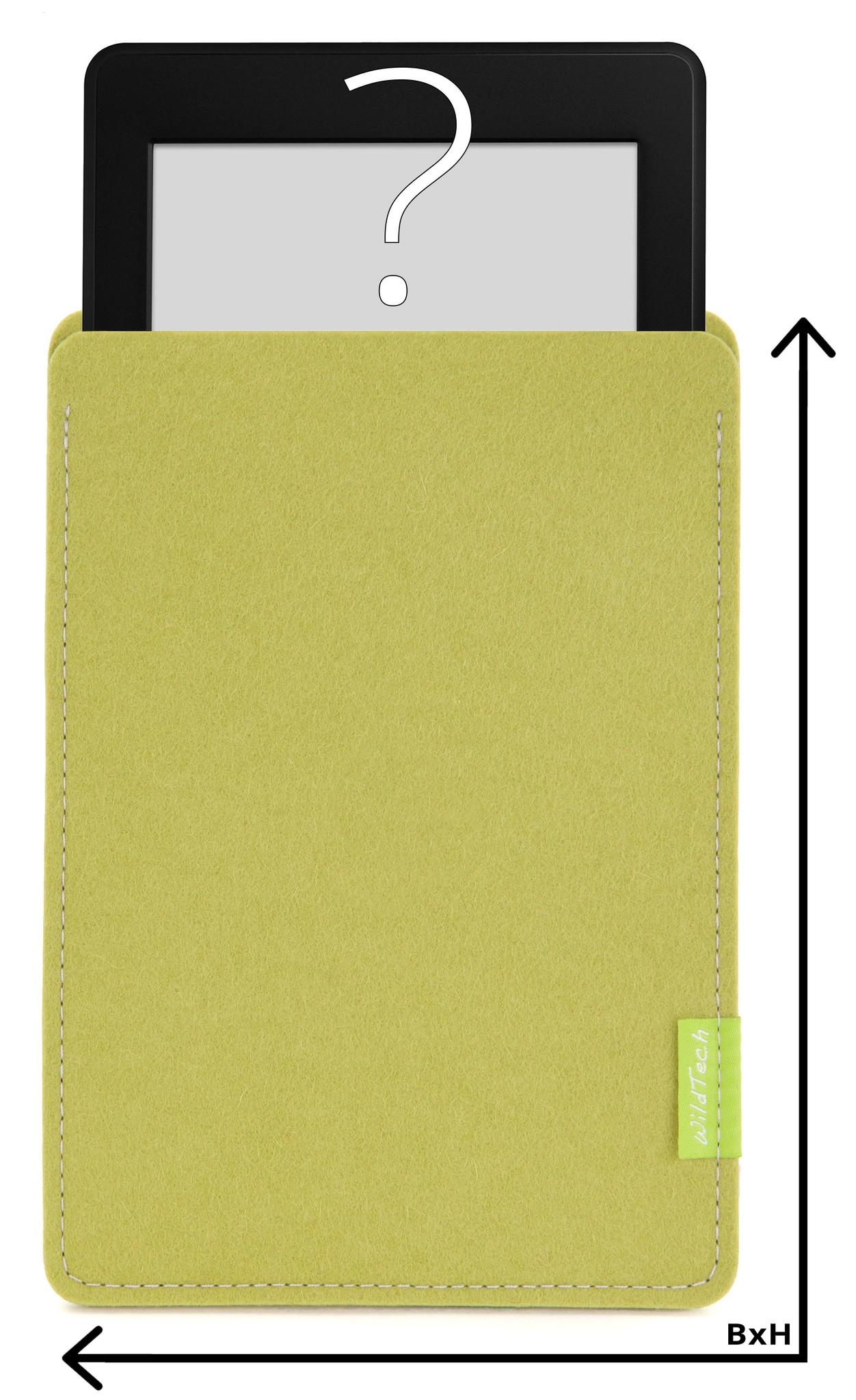 Individuelles eBook Sleeve Lindgrün-1