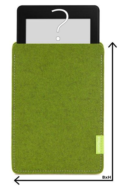 Individuelles eBook Sleeve Farn