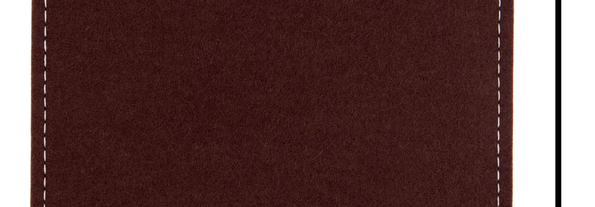 Individuelles eBook Sleeve Dunkelbraun