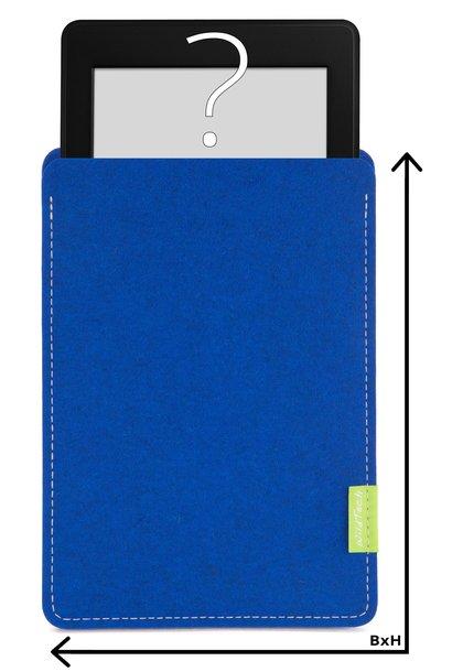 Individuelles eBook Sleeve Azure