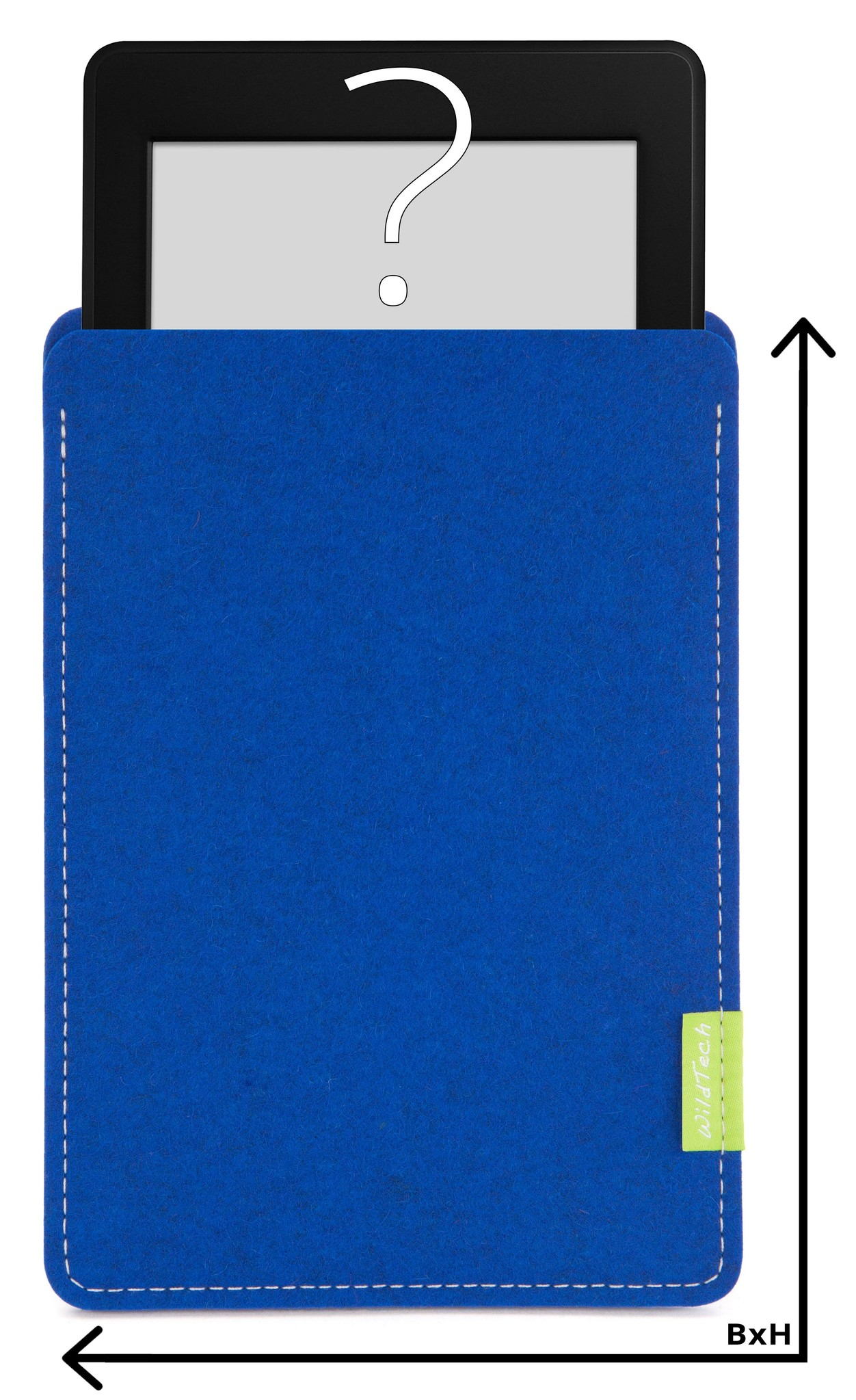 Individuelles eBook Sleeve Azure-1