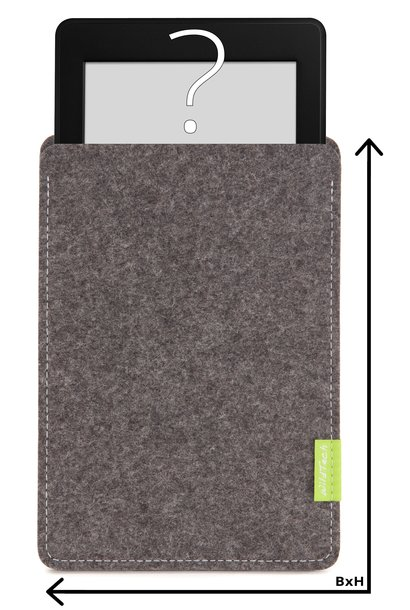 Individual eBook Sleeve Grey
