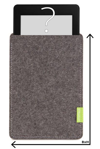 Individuelles eBook Sleeve Grau
