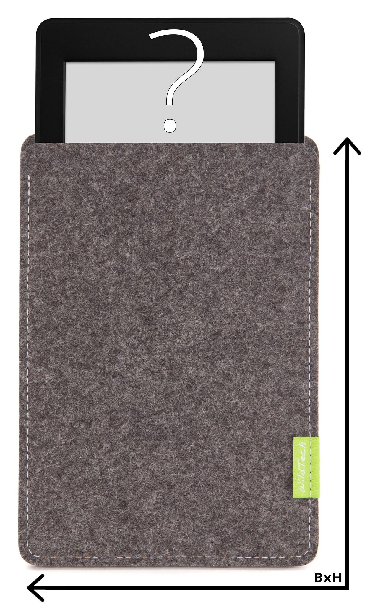 Individuelles eBook Sleeve Grau-1