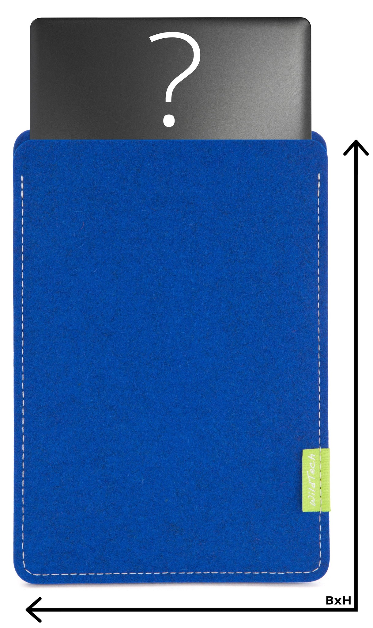 Individual Notebook Sleeve Azure-1